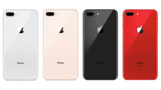 iphone 8+64 , 256 New!! Original Space gray, silver, gold, red