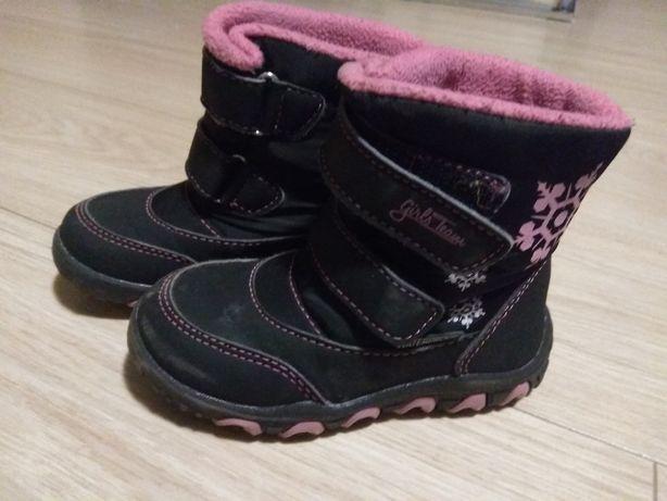 Buty zimowe/śniegowce r.24