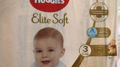Huggies Elite Soft р. 3, 4, 5 Хаггис Элит Софт подгузники Харьков