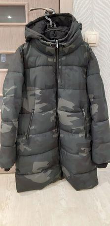Зимняя куртка-пальто only р.xl