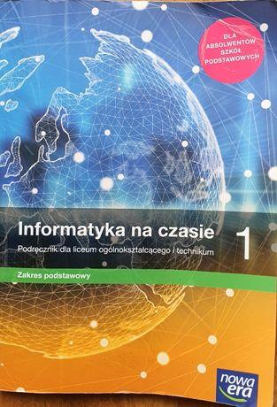 Informatyka na czasie 1 Podręcznik Zakres podstawowy