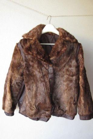 Blusão em pele de lontra