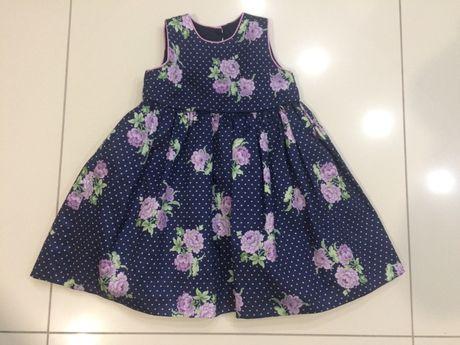 Детское платье Laura Ashley на девочку 1,5-2 года 92 рост