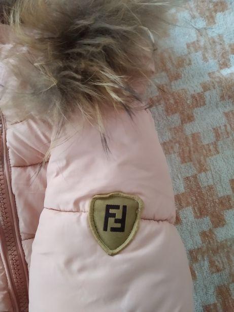 Fendi Зимний пуховик пальто куртка
