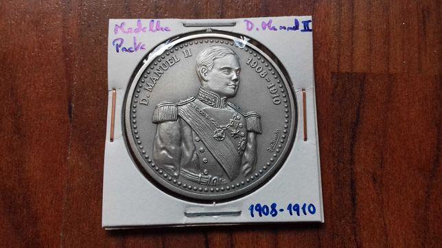 Medalha de Prata de D. Manuel II, Último Rei de Portugal