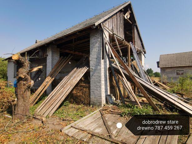 Skup starego drewna darmowa wymiana desek na nowe lub blachę rozbiórki