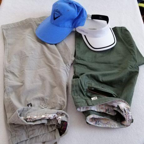 Spodenki, czapki i... do golfa