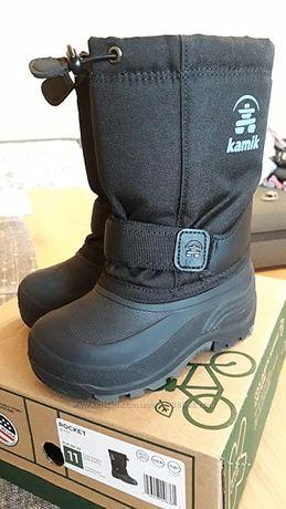 Сапоги сноубутсы Kamik Rocket Cold Weather Boot, 28-29р., 17,5 см