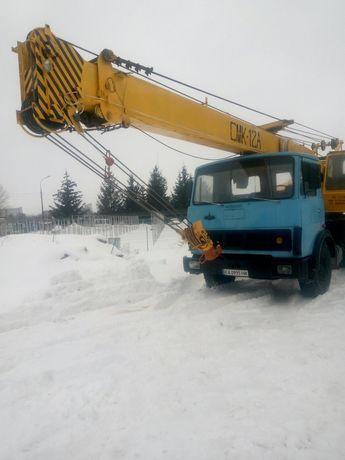 Автокран СМК-12А