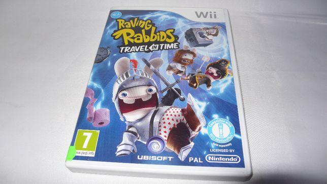 Raving Rabbids : Travel in Time gra do Nintendo Wii