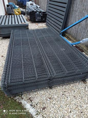 Panel ogrodzeniowy siatkowy 153x250 3D antracyt/grafit 5x20