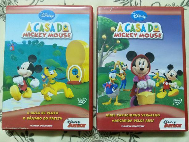 Filmes do Mickey ( Espanhol Português )