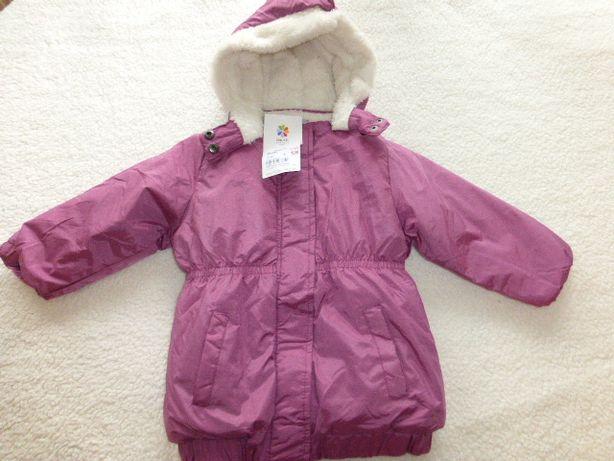 Куртка зима, девочке 92р Тополино
