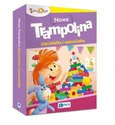 Nowa Trampolina pięciolatka i sześciolatka Pakiet PWN