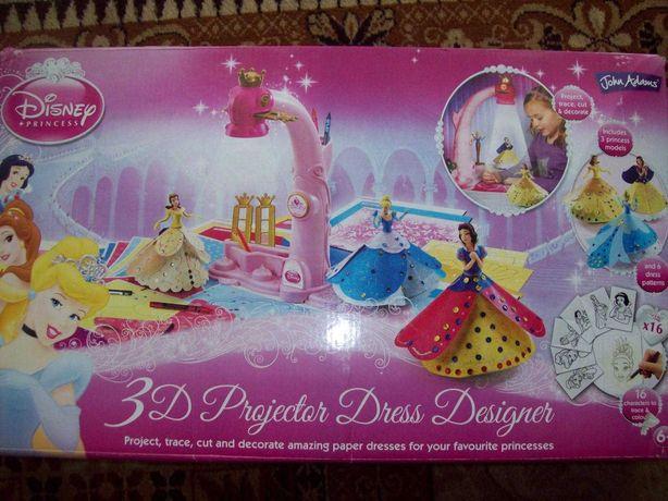 Projektor Disney do sukienek księżniczki obrazków