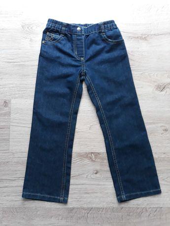 Nowe jeansy rozmiar 116