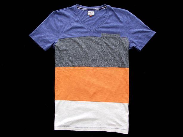 Koszulka tshirt Next panel vneck M