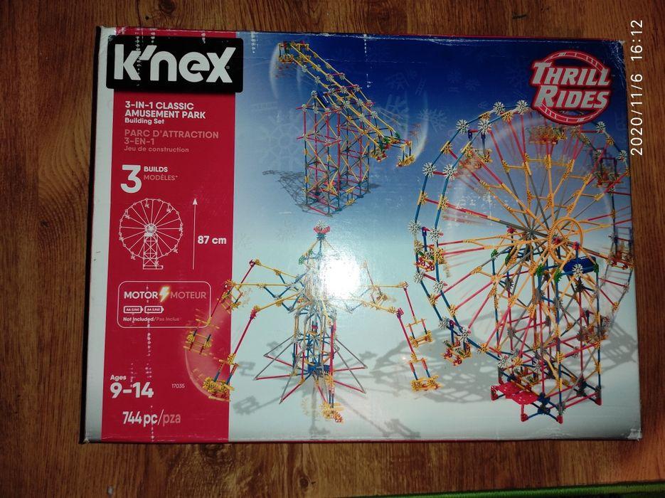 Klocki konstrukcyjne k'nex 3w1 centrum rozrywki Płock - image 1