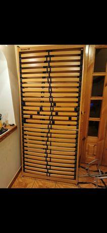 Stelaż 180/200x200 cm briflex, twinpack, materac, łóżko