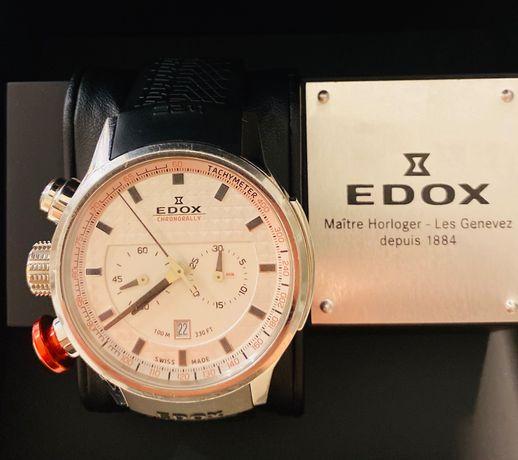 Zegarek EDOX CHRONORALLY official WRC watch
