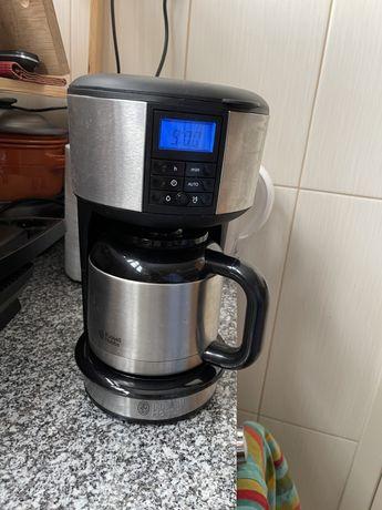 Maquina de café filtro com termo - Russell Hobbs