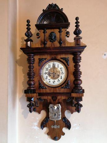 Zegar wiszący ślązak Gustav Becker