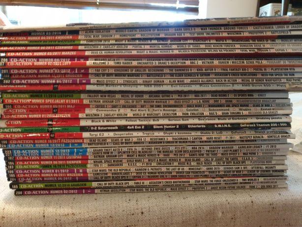 CD-Action magazyny, głównie lata od 2011 do 2012
