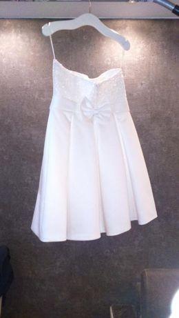 Sukienka koktajlowa - idealna na chrzciny, KOMUNIE, wesele