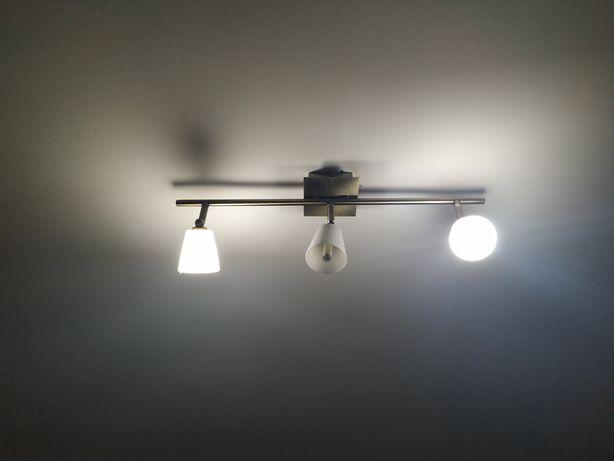 Candeeiro de sala c/3 lampadas led