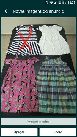 Vestidos da (Zara e Primark) para 9/10 Anos