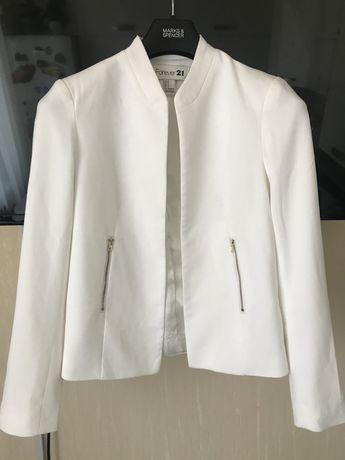 Белый пиджак жакет