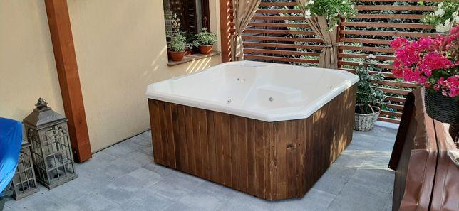 Jacuzzi ogrodowe SPA basen wanna beczka balia jakuzi jacuzi sauna