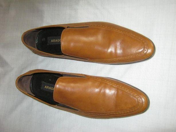 Нові італійські шкіряні туфлі