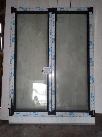 Okno PCV balkonowe 1770 X 2300