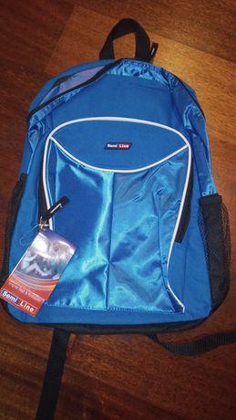 Plecak niebieski SemiLine Nowy