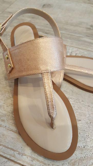 Śliczne nowe sandały japonki rozmiar 40