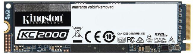 Продам SSD Kingston KC2000 250GB NVMe M.2 2280 PCIe 3.0 x4 3D NAND TLC