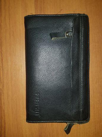 Мужской кожанный клатч Prensiti/ Продам чоловічий клатч марки Prensiti