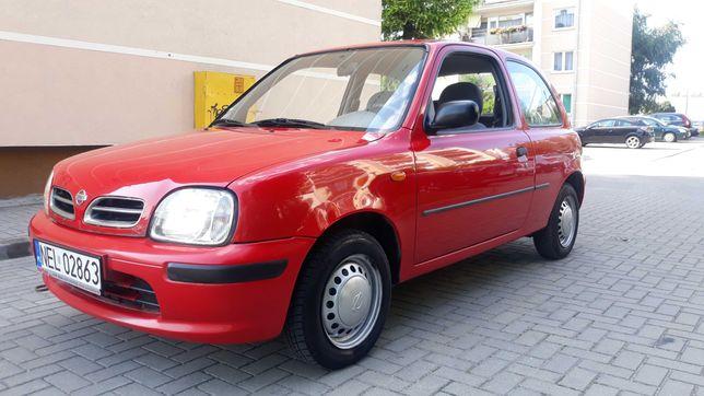 Nissan Micra 2000 rok LIFT 1.0 Kat Wspomaganie kierownicy. Oszczędny.