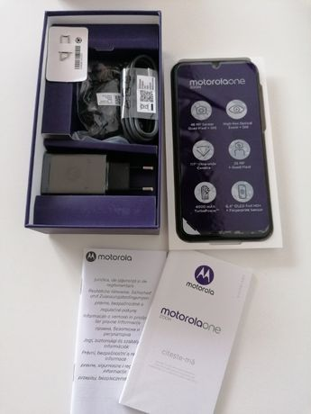 Motorola One Zoom 4/128GB Grey Szary NFC DualSim