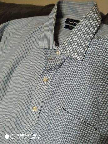 Koszula w paski meska