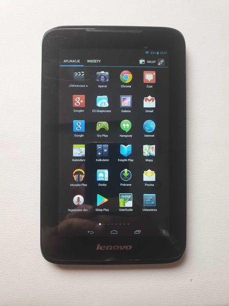 Tablet lenovo A1000L-F