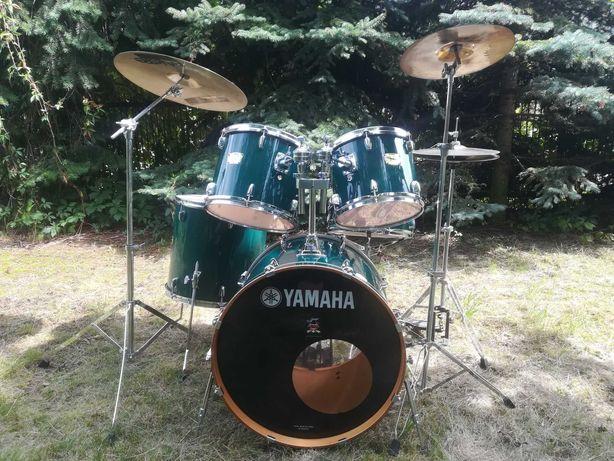 YAMAHA YD+talerze+statywy-kompletna perkusja!