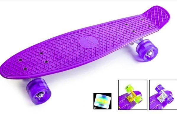 Penny Board Светящиеся колеса
