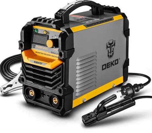 Deko DKA-200Y сварочный аппарат инвертор, 200A, портативный