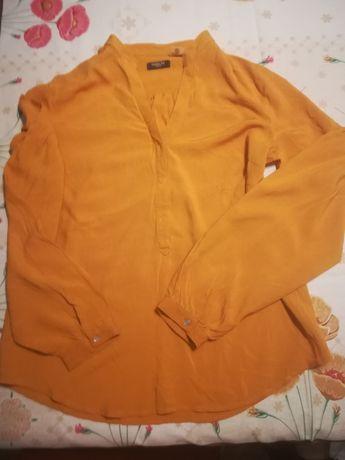Camisa la Redoute e blusa vintage