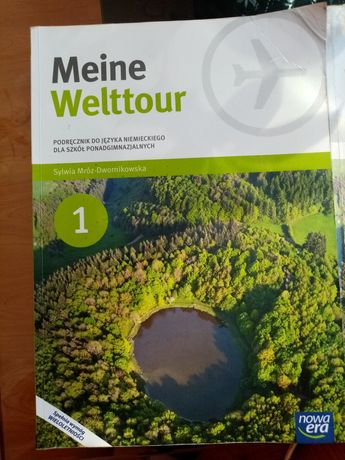 Meine Welttour książka i ćwiczenia