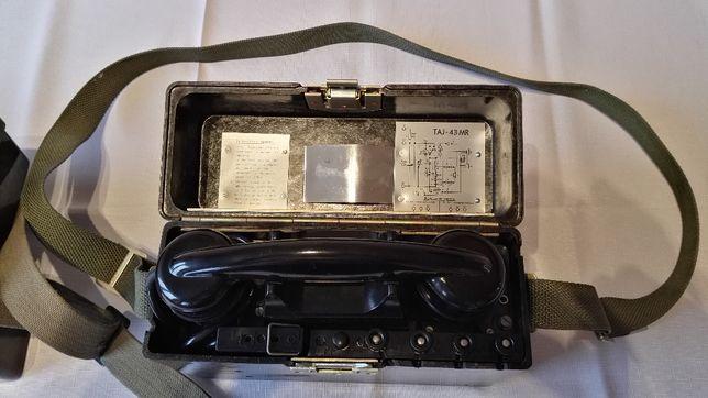 Telefon polowy (wojskowy) TAJ-43 MR