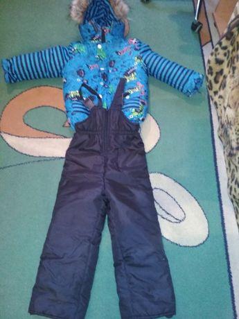 Зимняя куртка с комбинезоном