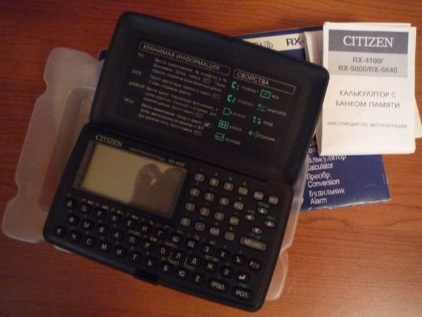 Электронная записная книга Citizen RX-4100 (Новая в упаковке)